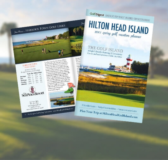 Hilton Head Golf Vacation Planner Pages