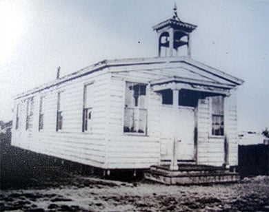 The First African Baptist Church circa 1865