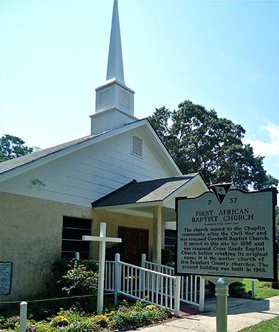 The First African Baptist Church circa 2012