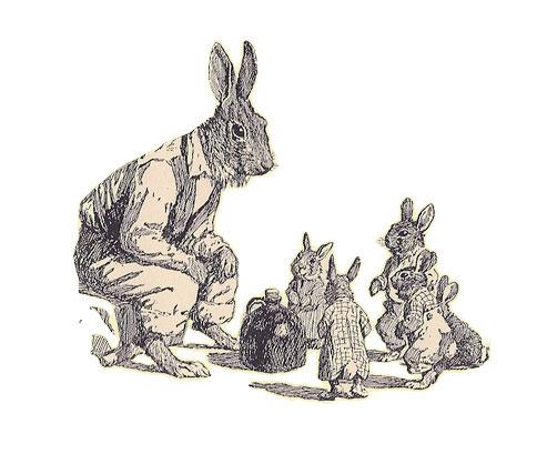 History of Brer Rabbit Brer Rabbit Telling Stories to