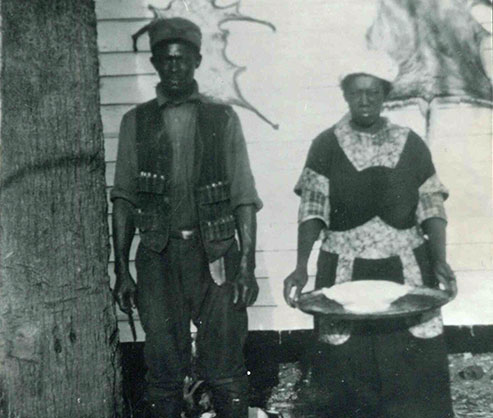 Historic photo of the Gullah