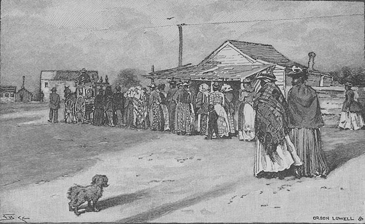 Gullah Funeral Precession