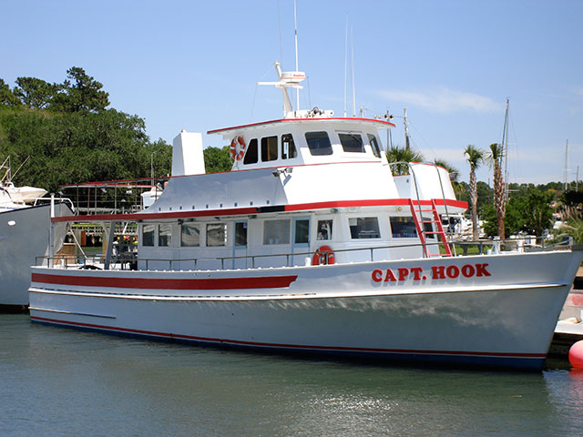 Capt. Hook Party Fishing Boat