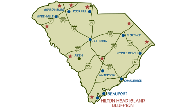 Maps Of Hilton Head Island South Carolina