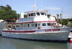 Capt hook party fishing boat hilton head island for Hilton head fishing party boat