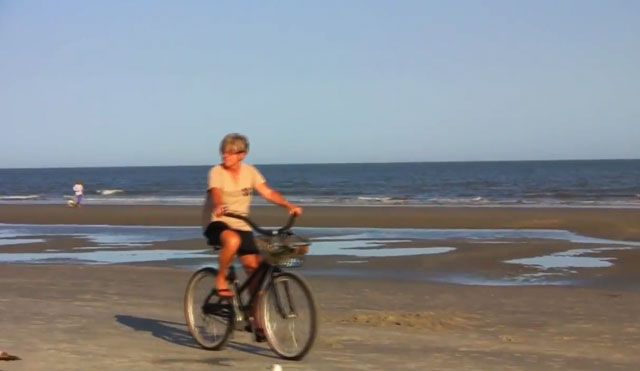 Video Thumbnail of Biking on Hilton Head Island