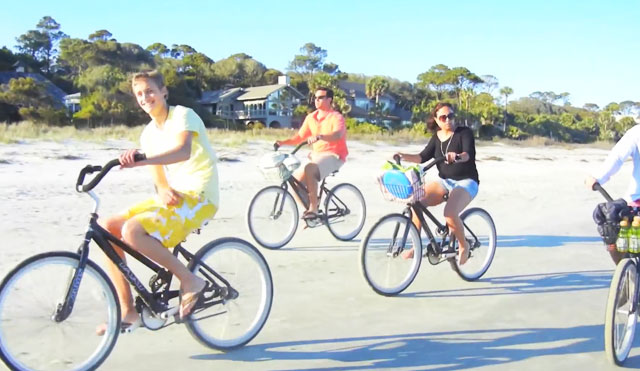 Video Thumbnail of Hilton Head Island Biking Adventure