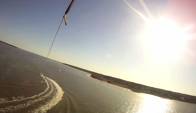 Video Thumbnail of Parasailing Hilton Head Island