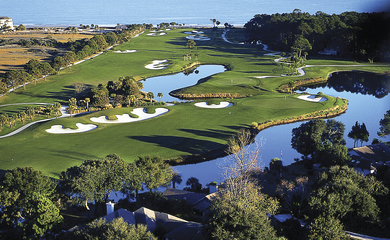 The Robert Trent Jones Course at Palmetto Dunes is one of 24 amazing layouts on Hilton Head Island.