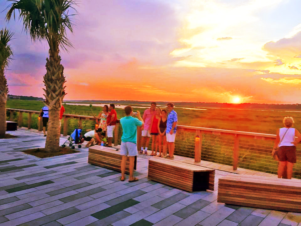 Summer Sunset Party at Shelter Cove Towne Center