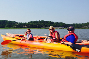 Kayaking on Hilton Head