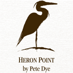 Heron Point by Pete Dye Logo