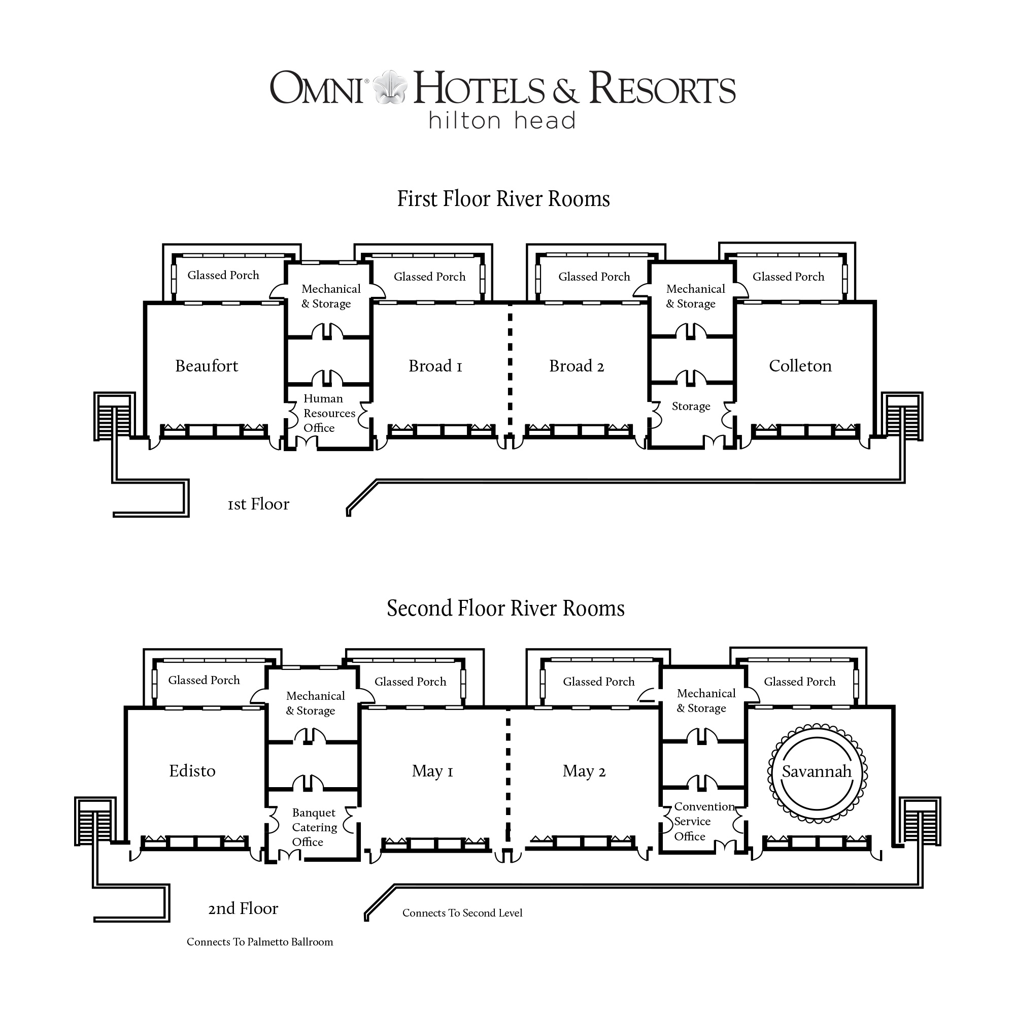 Omni Hotels and Resorts Floor plan