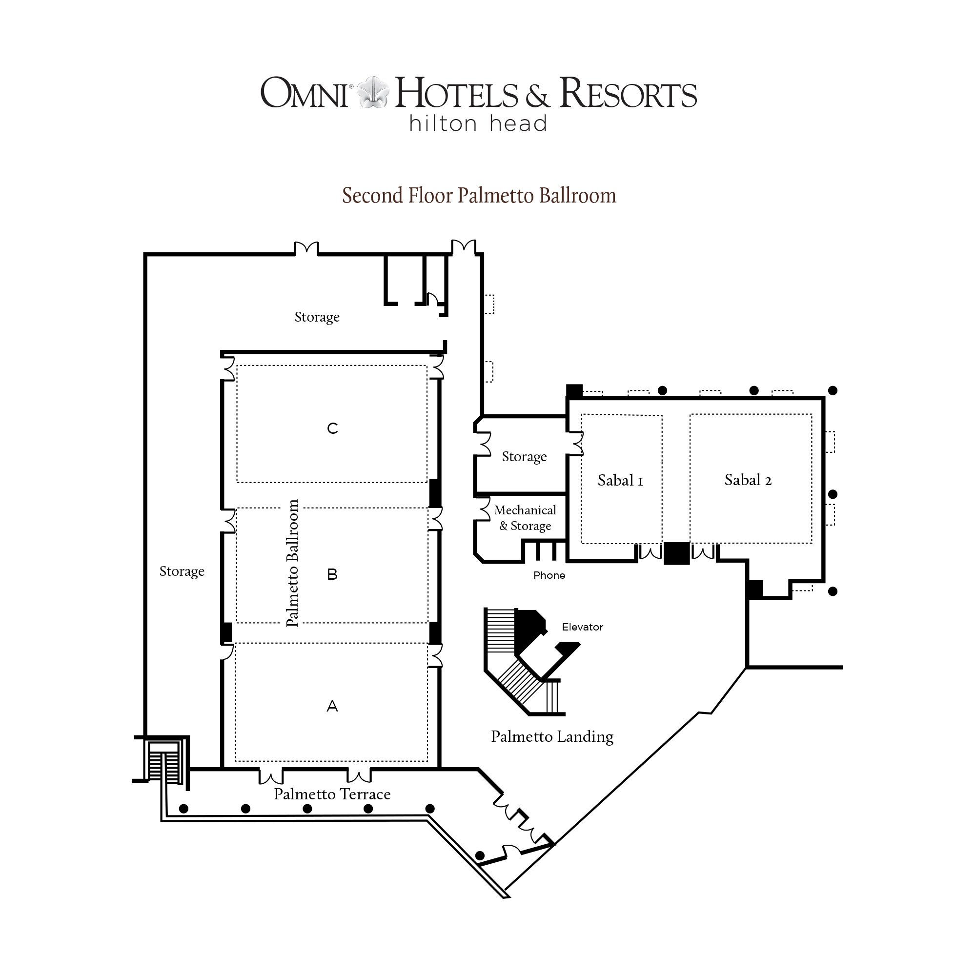 Omni Hotels and Resort floor plans