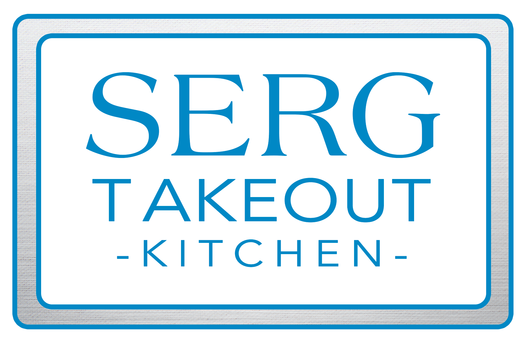 SERG Takeout Kitchen