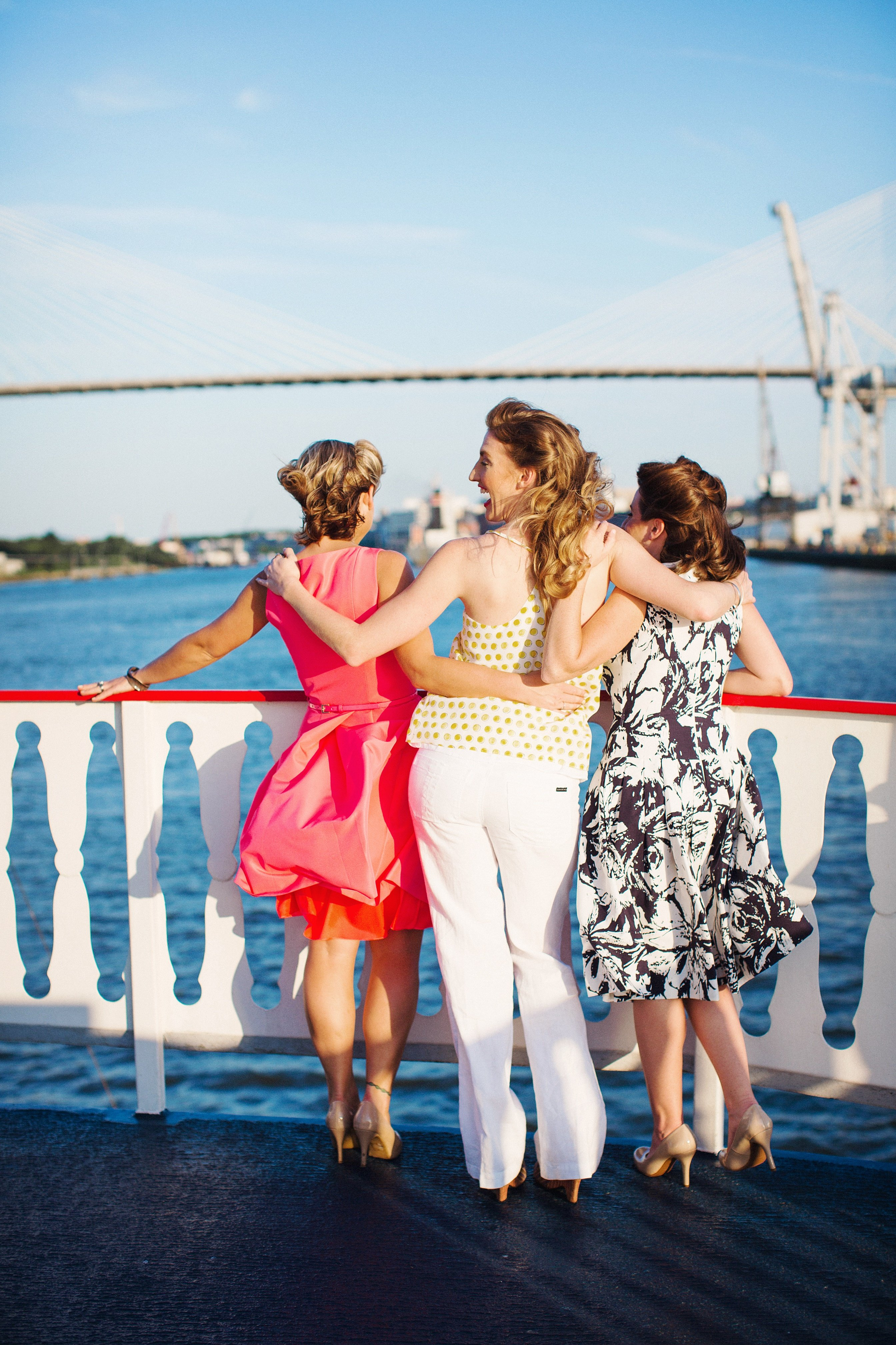 Girls just want to have fun! Have your girls outing on board a riverboat cruise!