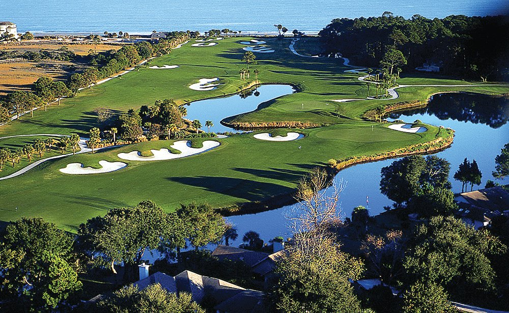 Robert Trent Jones Holes 9, 10 and 11
