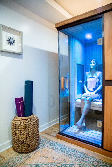 Heat up your health in a 3-1 infrared sauna and experince the healing benefits of near, mid and far infrared rays. Great for detoxing, natural anti-aging, relaxation, muscle pain and more!