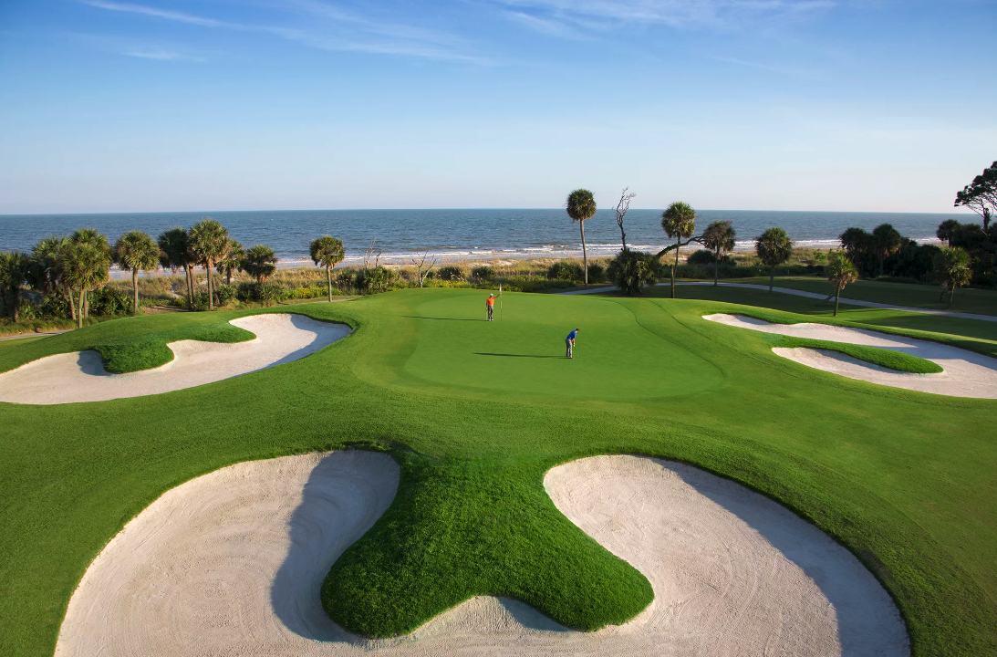 Photo of golf course at Palmetto Dunes Oceanfront Resort
