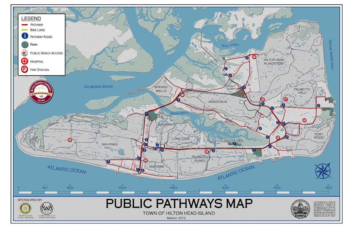 bike path map