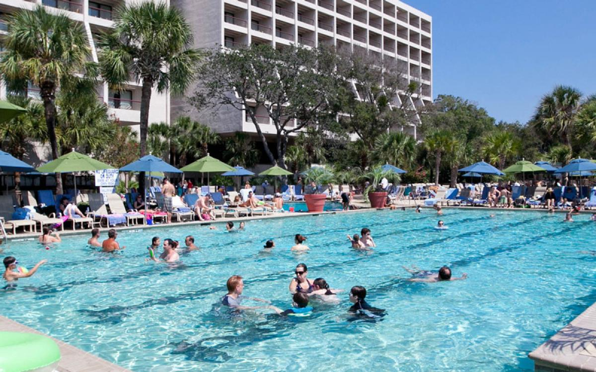 Hilton Head Island Marriott Resort and Spa pool