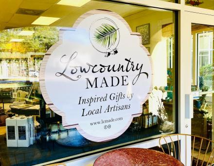 Lowcountry Made shop is located within The Juice Hive at 14 Johnston Way Suite A in Bluffton