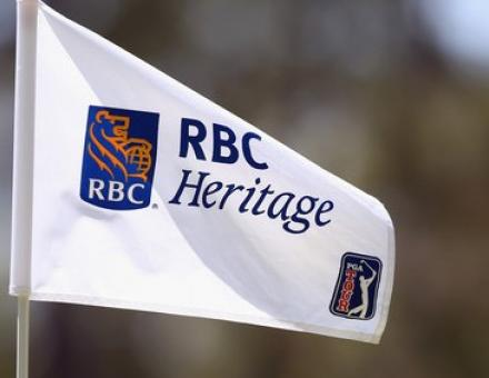 RBC Heritage golf flag