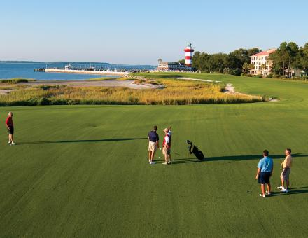 The Harbour Town Golf Links on Hilton Head Island