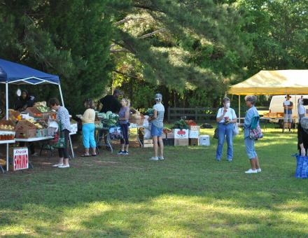 Farmers Market at Historic Honey Horn