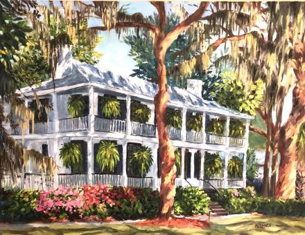 "Kim France presents ""Impressions of France: A Collection of Colorful Oils of the Lowcountry and Italy"" Exhibit runs September 3-October 6, with an opening reception from 3-5 p.m. September 8th"