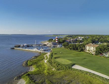 Aerial View of Harbour Town Golf Links