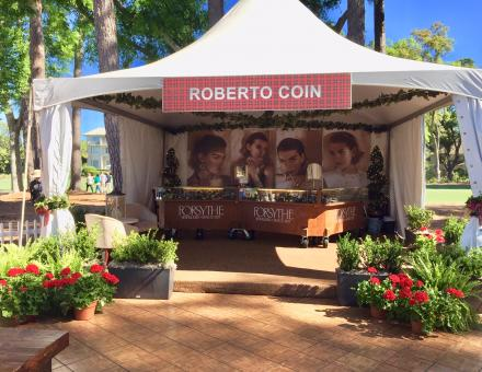 Forsythe Jewelers & Roberto Coin Tent at RBC Heritage