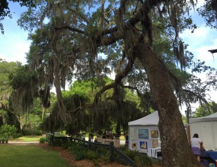 The Art Market at HIstoric Honey Horn on HIlton Head Island