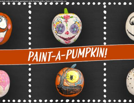 All-Ages Paint Party is from 11 a.m.-1 p.m. Sunday, Oct. 20  at Painting With A Twist in Pooler