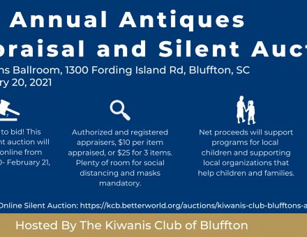 4th Annual Antiques Appraisal and Silent Auction general information