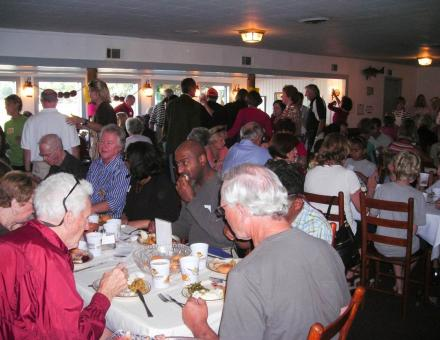 The Community Thanksgiving Dinner was started over 20 years ago so no one would have to eat alone.