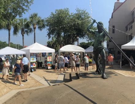 HHI Art Festival at Shelter Cove Harbour & Marina