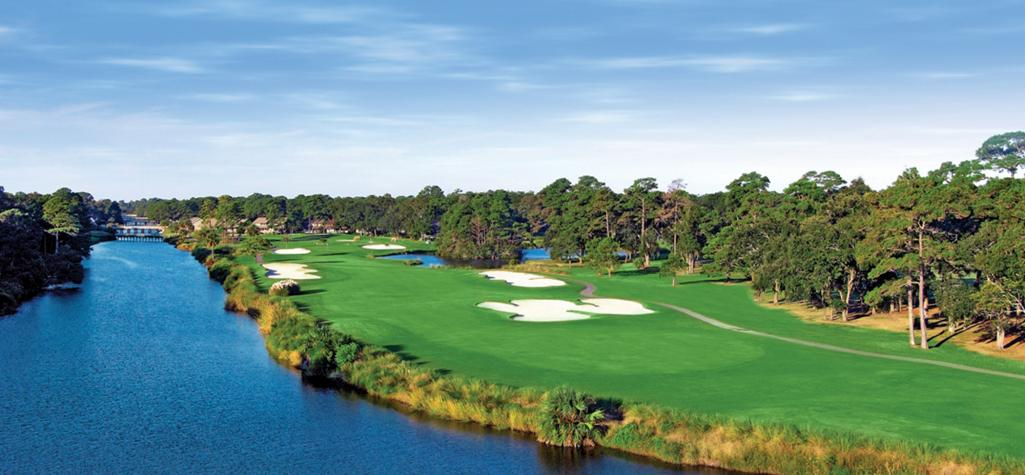 Palmetto Dunes golf course on Hilton Head Island, SC