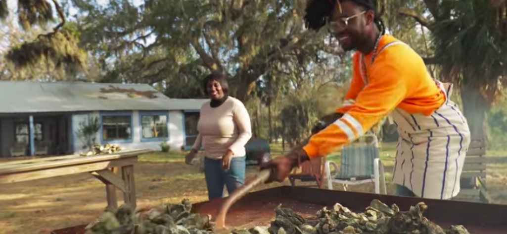 Traditional Gullah Oyster Roast