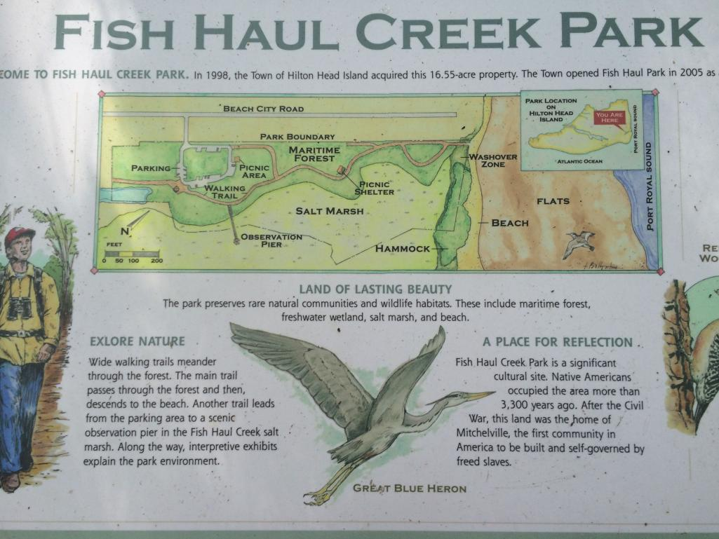 Fish Haul Creek Park Map