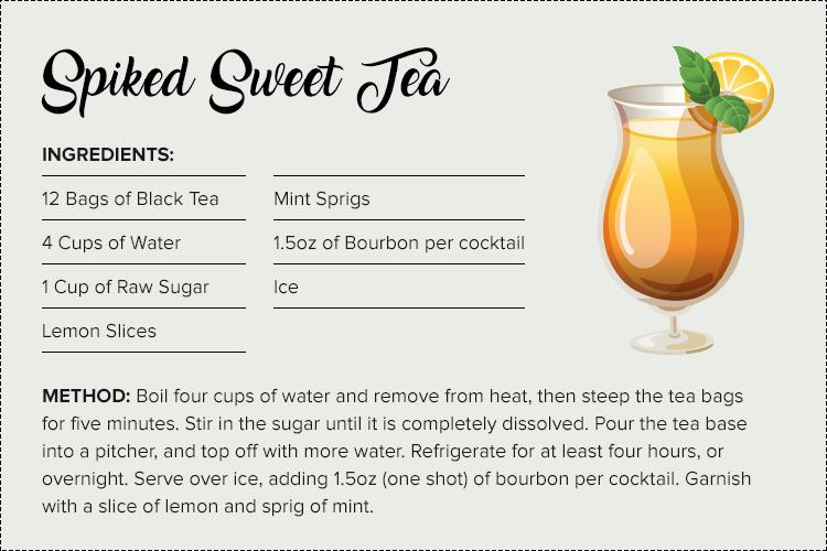 Spiked Sweet Tea