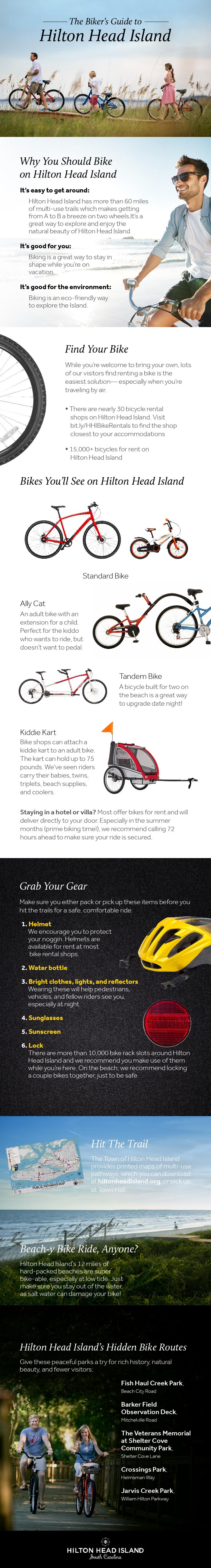 Hilton Head Island Biking Infographic