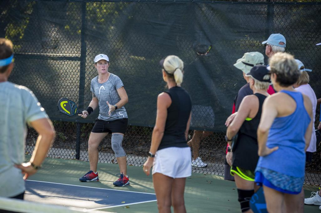 Sarah Ansboury Hosts Tuesday Nights Clinics
