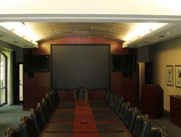 Meetings in SC: Chamber of Commerce Executive Boardroom | Hilton
