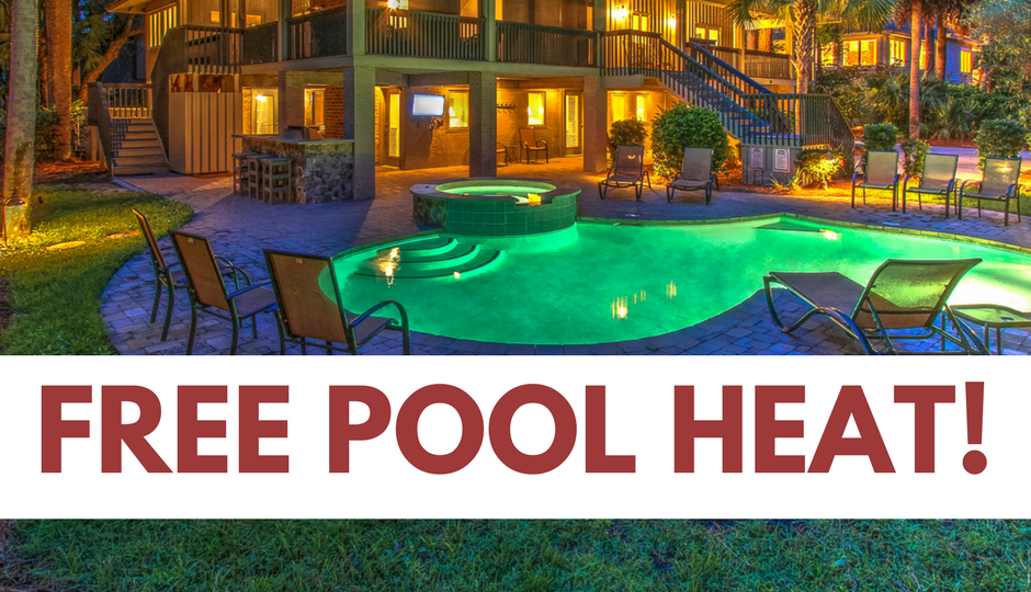 Get Free Pool and/or Spa Heat!