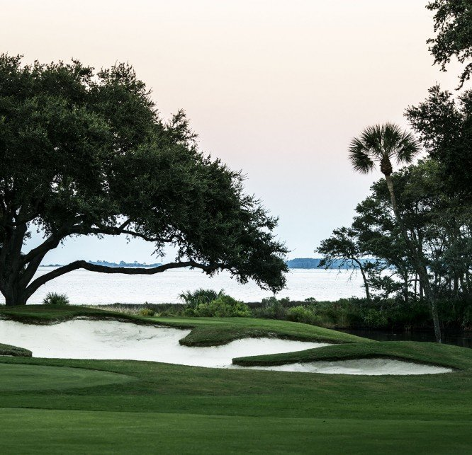 Beatiful Hilton Head Island golf green