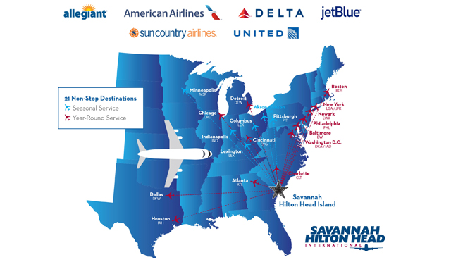 Sample of Flight Services Map