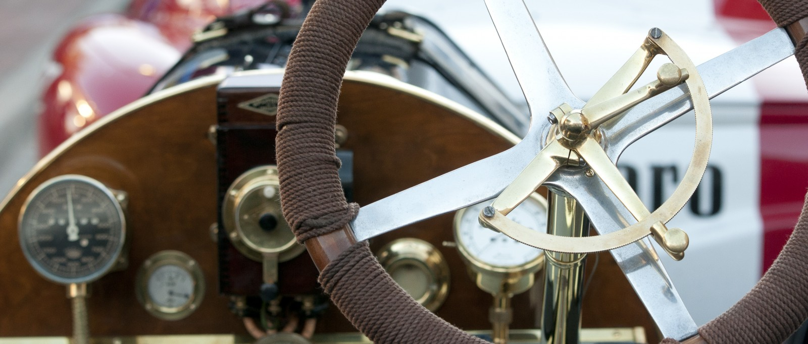 CLose up of a vechicle at the Hitlon Head Island Concours d'Elegance