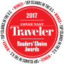 Conde Nast Traveler Reader's Choice 2017 Top Island