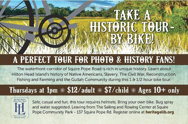 Bike Tours of Historic Squire Pope Road